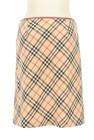 BURBERRY BLUE LABEL(バーバリーブルーレーベル)の古着「スカート」後ろ