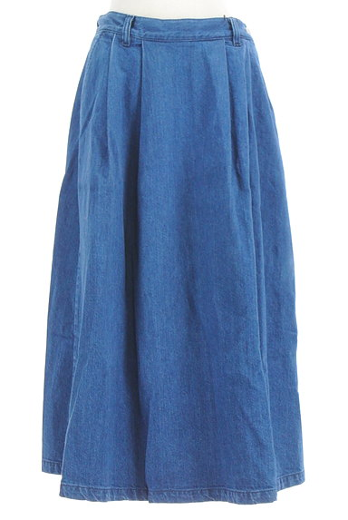 OPAQUE.CLIP(オペークドットクリップ)の古着「デニムロングスカート(ロングスカート・マキシスカート)」大画像1へ