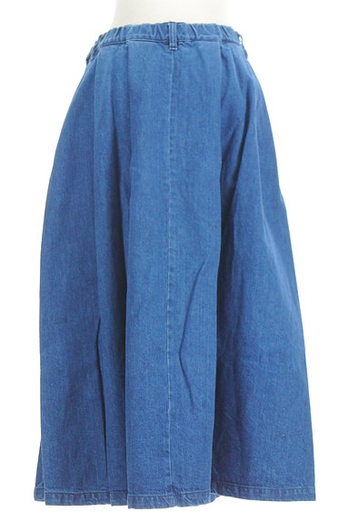 OPAQUE.CLIP(オペークドットクリップ)の古着「デニムロングスカート(ロングスカート・マキシスカート)」大画像2へ