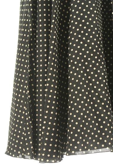 STRAWBERRY-FIELDS(ストロベリーフィールズ)の古着「ミモレ丈ドット柄フレアスカート(ロングスカート・マキシスカート)」大画像5へ