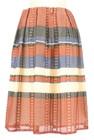 STRAWBERRY-FIELDS(ストロベリーフィールズ)の古着「ロングスカート・マキシスカート」後ろ