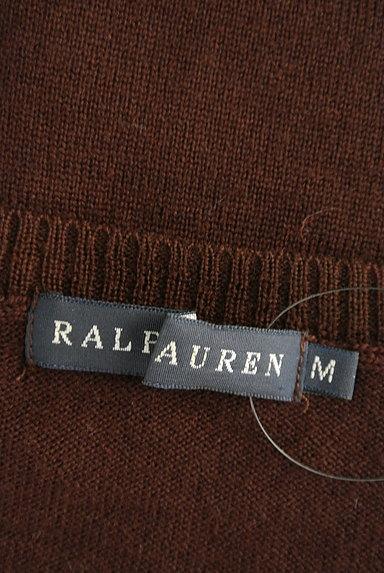 Ralph Lauren(ラルフローレン)の古着「Vネックハイゲージニット(ニット)」大画像6へ