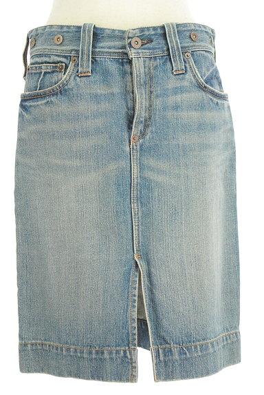 Ralph Lauren(ラルフローレン)の古着「前スリット膝丈デニムスカート(スカート)」大画像1へ