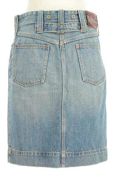 Ralph Lauren(ラルフローレン)の古着「前スリット膝丈デニムスカート(スカート)」大画像2へ