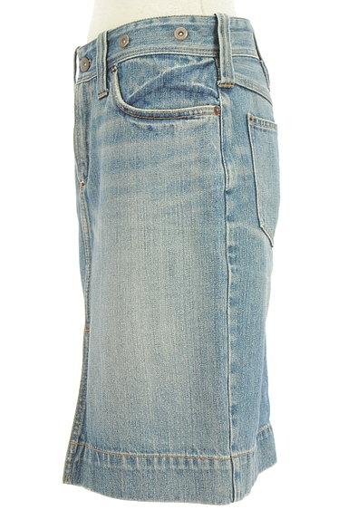 Ralph Lauren(ラルフローレン)の古着「前スリット膝丈デニムスカート(スカート)」大画像3へ