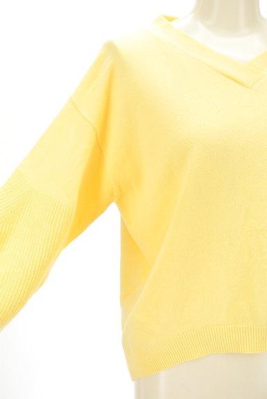 LA MARINE FRANCAISE(マリンフランセーズ)の古着「リブ切替袖Vネックニット(ニット)」大画像4へ