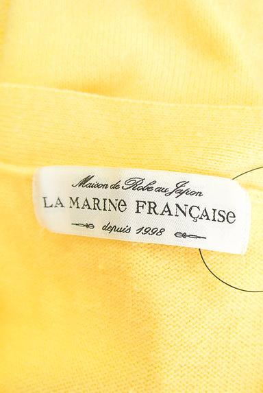 LA MARINE FRANCAISE(マリンフランセーズ)の古着「リブ切替袖Vネックニット(ニット)」大画像6へ