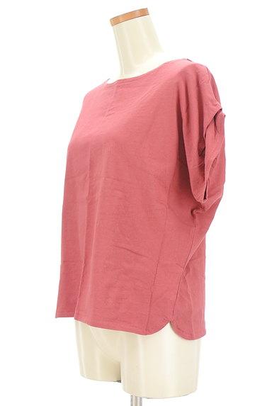 Te chichi(テチチ)の古着「袖タックコットンリネンカットソー(カットソー・プルオーバー)」大画像3へ