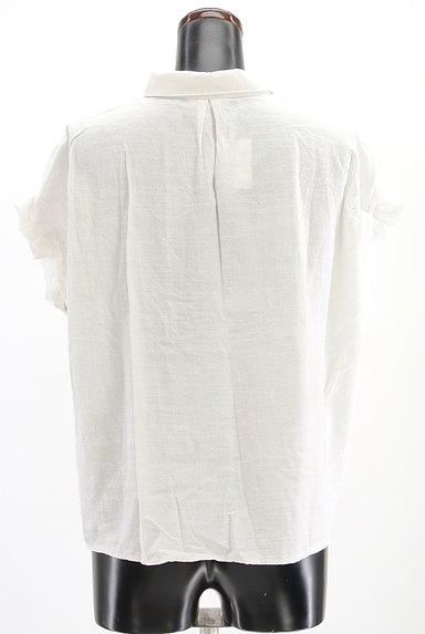 Te chichi(テチチ)の古着「タックフリル袖コットンシャツ(カジュアルシャツ)」大画像2へ