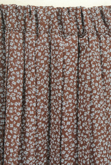 Te chichi(テチチ)の古着「小花柄シフォンプリーツスカート(ロングスカート・マキシスカート)」大画像4へ