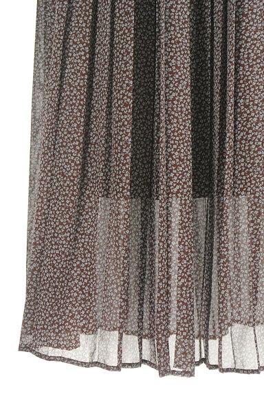 Te chichi(テチチ)の古着「小花柄シフォンプリーツスカート(ロングスカート・マキシスカート)」大画像5へ