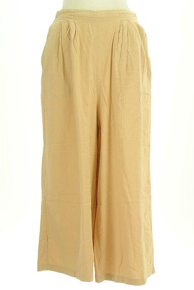 SM2(サマンサモスモス)の古着「コットンリネンワイドパンツ(パンツ)」大画像1へ