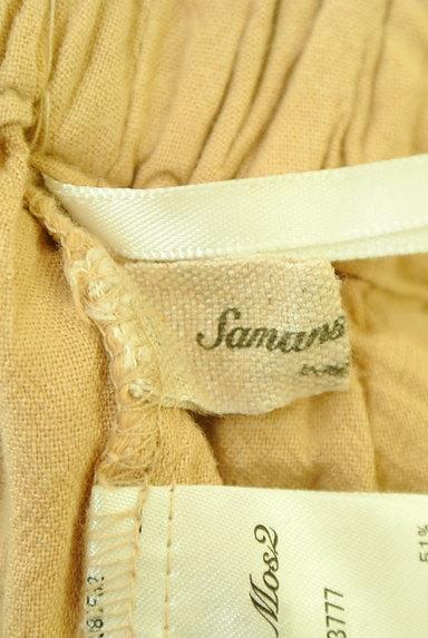 SM2(サマンサモスモス)の古着「コットンリネンワイドパンツ(パンツ)」大画像6へ