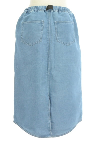 SM2(サマンサモスモス)の古着「デニム調膝下丈スカート(ロングスカート・マキシスカート)」大画像2へ