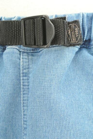 SM2(サマンサモスモス)の古着「デニム調膝下丈スカート(ロングスカート・マキシスカート)」大画像4へ