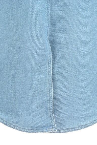 SM2(サマンサモスモス)の古着「デニム調膝下丈スカート(ロングスカート・マキシスカート)」大画像5へ