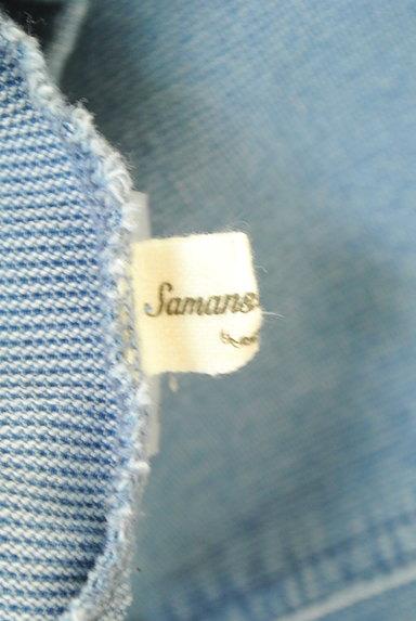 SM2(サマンサモスモス)の古着「デニム調膝下丈スカート(ロングスカート・マキシスカート)」大画像6へ