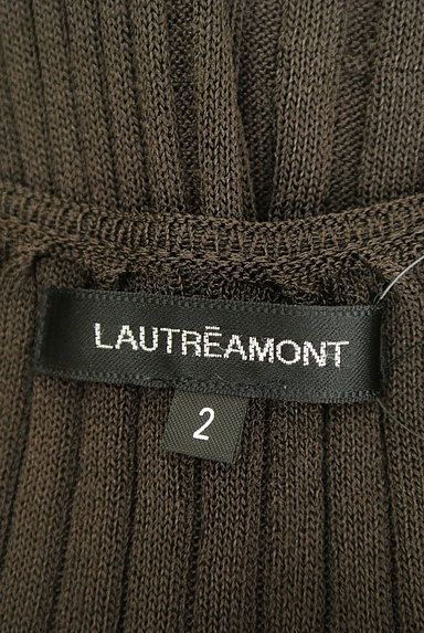 LAUTREAMONT(ロートレアモン)の古着「七分袖リブニット(ニット)」大画像6へ