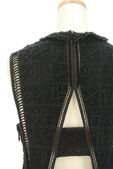 REBECCA TAYLOR(レベッカテイラー)の古着「刺繍レースロングワンピース(ワンピース・チュニック)」大画像4へ