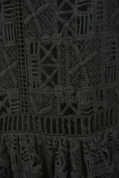 REBECCA TAYLOR(レベッカテイラー)の古着「刺繍レースロングワンピース(ワンピース・チュニック)」大画像5へ