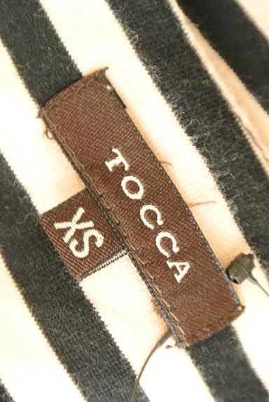 TOCCA(トッカ)の古着「ビジュー刺繍ボーダーカットソー(カットソー・プルオーバー)」大画像6へ