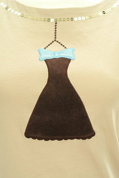 M'S GRACY(エムズグレイシー)の古着「ドレス刺繍ボリューム袖カットソー(カットソー・プルオーバー)」大画像4へ