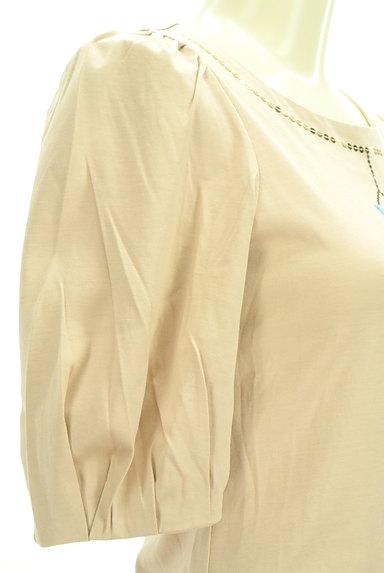 M'S GRACY(エムズグレイシー)の古着「ドレス刺繍ボリューム袖カットソー(カットソー・プルオーバー)」大画像5へ