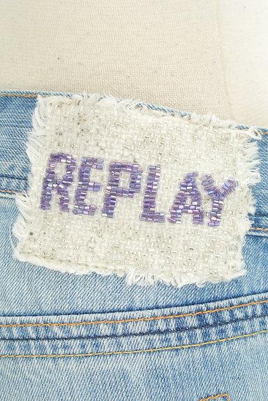 REPLAY(リプレイ)の古着「ワイドデニムパンツ(デニムパンツ)」大画像5へ