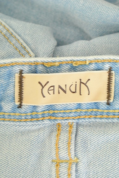 YANUK(ヤヌーク)の古着「ワイドデニムパンツ(デニムパンツ)」大画像6へ