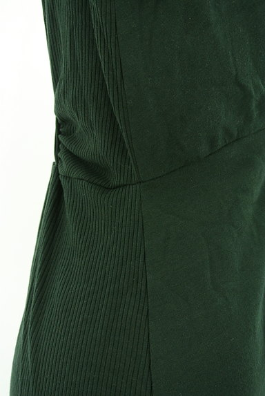 SLY(スライ)の古着「リブ切替絞りスリットロングワンピ(ワンピース・チュニック)」大画像5へ
