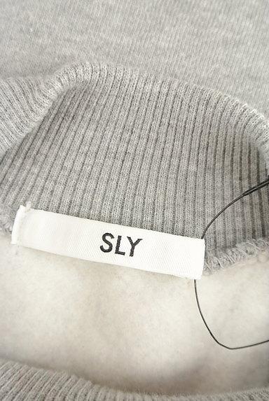 SLY(スライ)の古着「裏起毛ドルマンゆったりスウェット(スウェット・パーカー)」大画像6へ