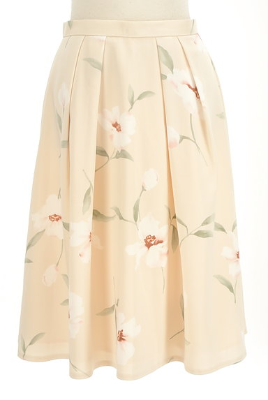 Rirandture(リランドチュール)の古着「花柄膝下丈タックフレアスカート(スカート)」大画像1へ