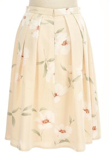 Rirandture(リランドチュール)の古着「花柄膝下丈タックフレアスカート(スカート)」大画像2へ