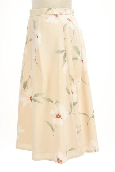 Rirandture(リランドチュール)の古着「花柄膝下丈タックフレアスカート(スカート)」大画像3へ