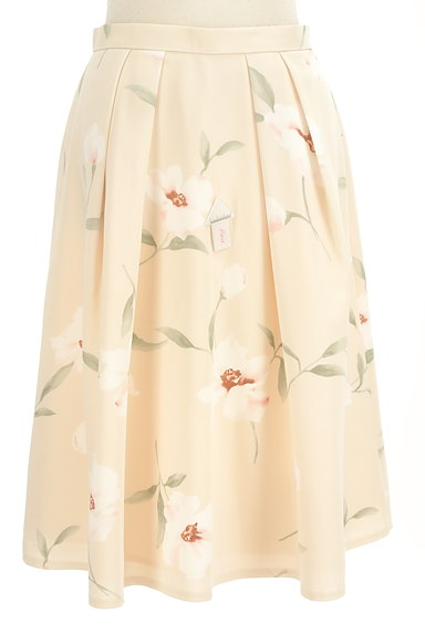Rirandture(リランドチュール)の古着「花柄膝下丈タックフレアスカート(スカート)」大画像4へ