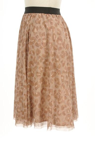 JUSGLITTY(ジャスグリッティー)の古着「レオパード柄膝丈チュールスカート(スカート)」大画像3へ