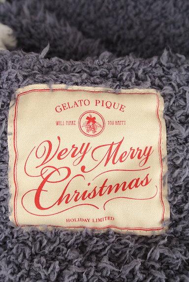 gelato pique(ジェラートピケ)の古着「サンタ風パイルニットロングガウン(カーディガン・ボレロ)」大画像6へ