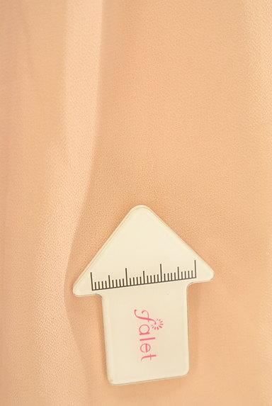 JILL by JILLSTUART(ジルバイジルスチュアート)の古着「フリルシフォンパフ袖ブラウス(カットソー・プルオーバー)」大画像5へ