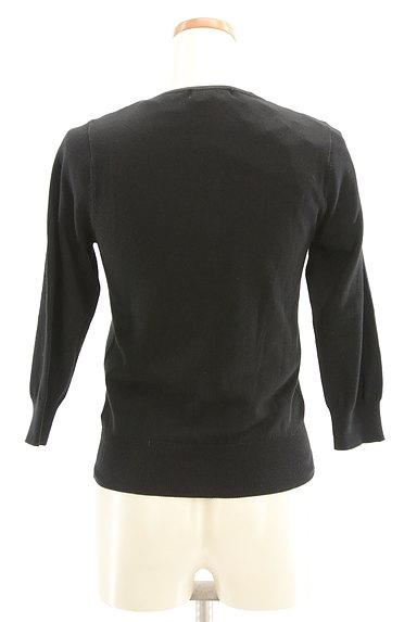 LAISSE PASSE(レッセパッセ)の古着「刺繍レース切替アンサンブルニット(アンサンブル)」大画像2へ