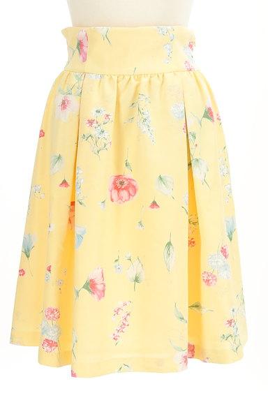 WILLSELECTION(ウィルセレクション)の古着「膝下丈花柄タックフレアスカート(スカート)」大画像1へ