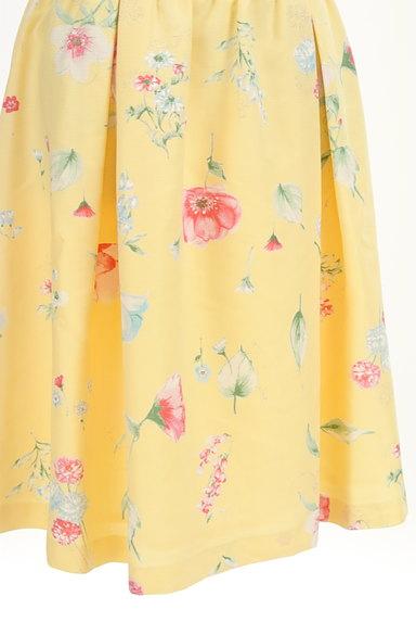 WILLSELECTION(ウィルセレクション)の古着「膝下丈花柄タックフレアスカート(スカート)」大画像4へ