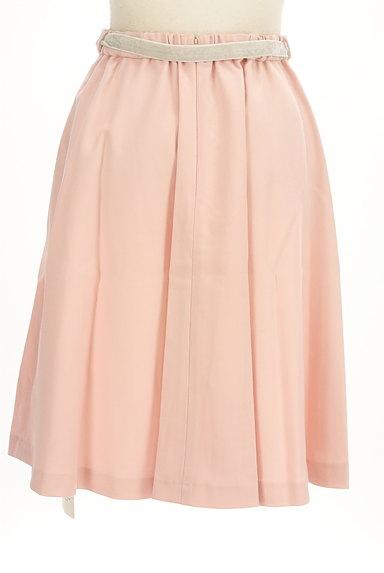 WILLSELECTION(ウィルセレクション)の古着「ミディ丈ベロアリボンウールスカート(スカート)」大画像2へ