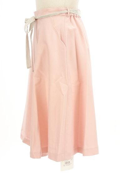 WILLSELECTION(ウィルセレクション)の古着「ミディ丈ベロアリボンウールスカート(スカート)」大画像3へ