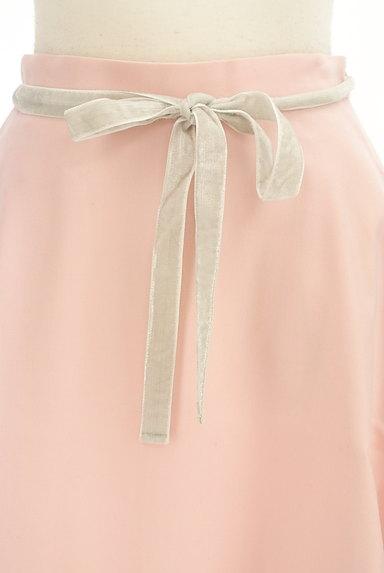 WILLSELECTION(ウィルセレクション)の古着「ミディ丈ベロアリボンウールスカート(スカート)」大画像4へ