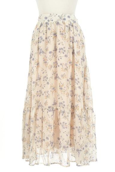 WILLSELECTION(ウィルセレクション)の古着「小花楊柳シフォンロングスカート(ロングスカート・マキシスカート)」大画像1へ