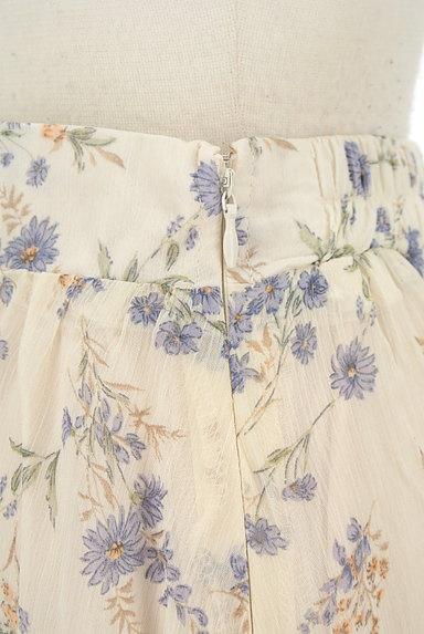 WILLSELECTION(ウィルセレクション)の古着「小花楊柳シフォンロングスカート(ロングスカート・マキシスカート)」大画像4へ