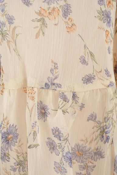 WILLSELECTION(ウィルセレクション)の古着「小花楊柳シフォンロングスカート(ロングスカート・マキシスカート)」大画像5へ