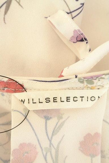 WILLSELECTION(ウィルセレクション)の古着「小花柄シフォンフリルカットソー(カットソー・プルオーバー)」大画像6へ