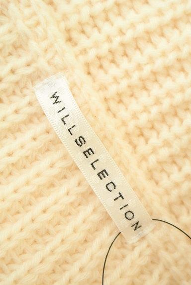 WILLSELECTION(ウィルセレクション)の古着「ファー付きケーブルニットワンピ(ワンピース・チュニック)」大画像6へ