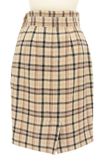 Apuweiser riche(アプワイザーリッシェ)の古着「チェック×無地リバーシブルスカート(スカート)」大画像2へ